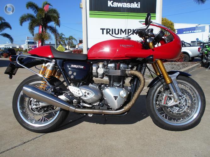 2016 Triumph Thruxton 1200 R MY17