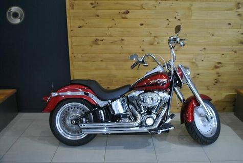 2008 Harley-Davidson Fat Boy 96 (FLSTF)