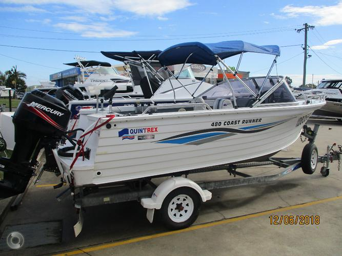 2007 QUINTREX 480 COAST RUNNER