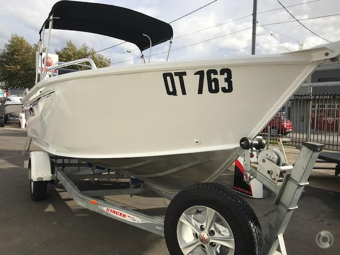 2014 STACER 469 OUTLAW SIDE CONSOLE