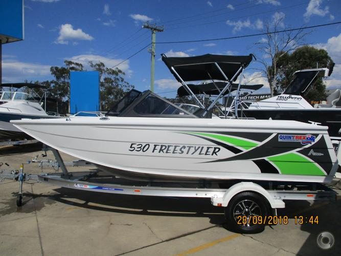 2018 QUINTREX 530 FREESTYLER
