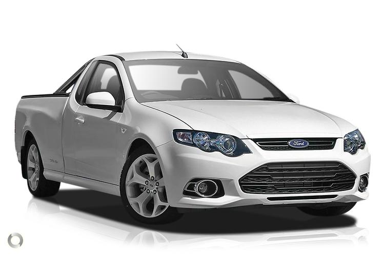 2012 Ford Falcon Ute FG MkII XR6 Turbo (Oct.)