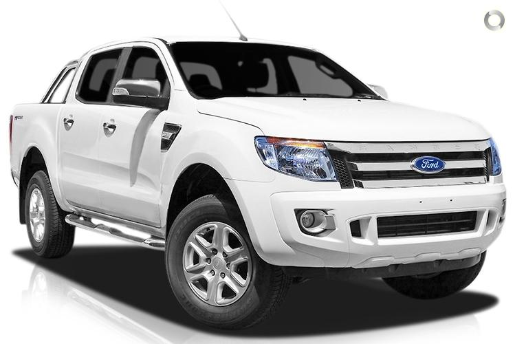 2014 Ford Ranger XLT Hi-Rider PX Manual 4x2 Double Cab