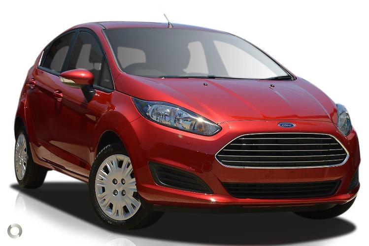 2016 Ford Fiesta WZ Ambiente (Jul. 2014)