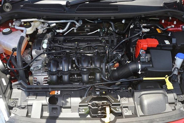 2016 Ford Fiesta Ambiente WZ Manual