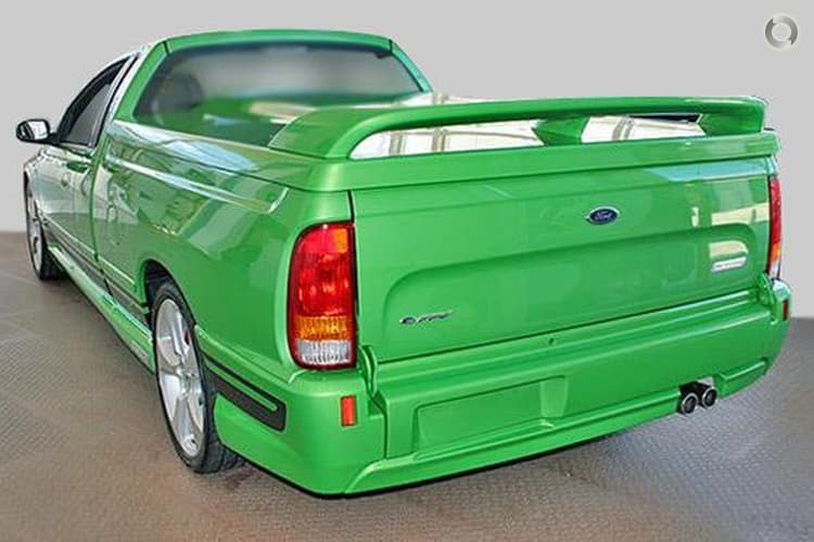 2008 Ford Performance Vehicles Super Pursuit BF Mk II Manual