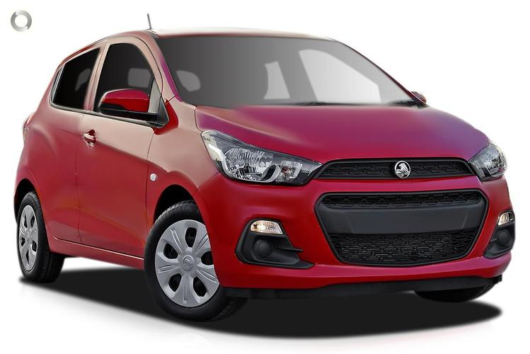 2016 Holden Spark MP LS MY16 Constantly Variable Transmission