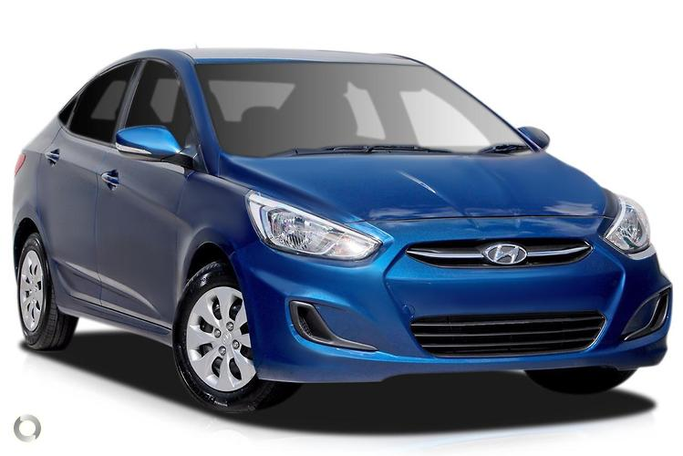 2016 Hyundai Accent RB4 Active MY17
