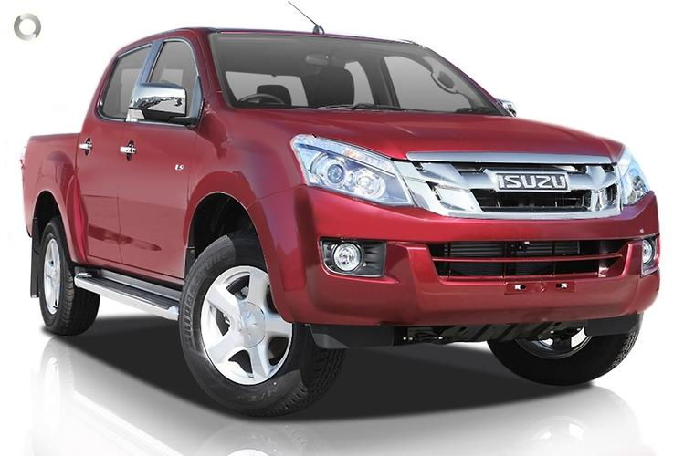 2014 Isuzu D-MAX (No Series) LS-U High Ride MY14 Sports Automatic 4x2
