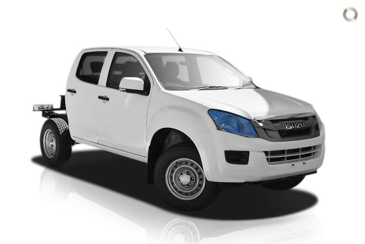 2016 Isuzu D-MAX (No Series) SX High Ride MY15 Sports Automatic 4x2