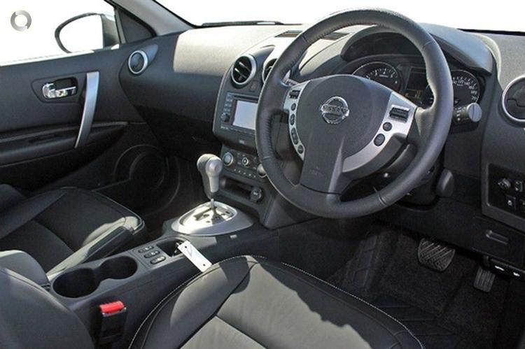 2013 Nissan Dualis +2 Ti-L J10 Series 3 Auto AWD MY12