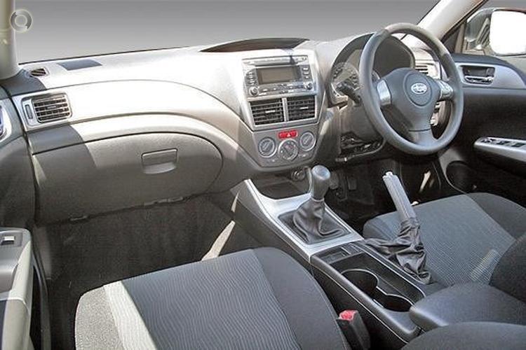 2009 Subaru Impreza R G3 Manual AWD MY10