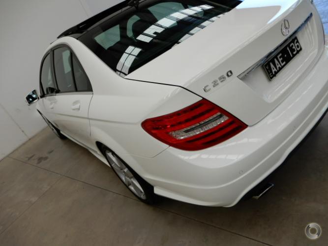 2013 Mercedes-Benz C250 CDI Avantgarde Auto MY13