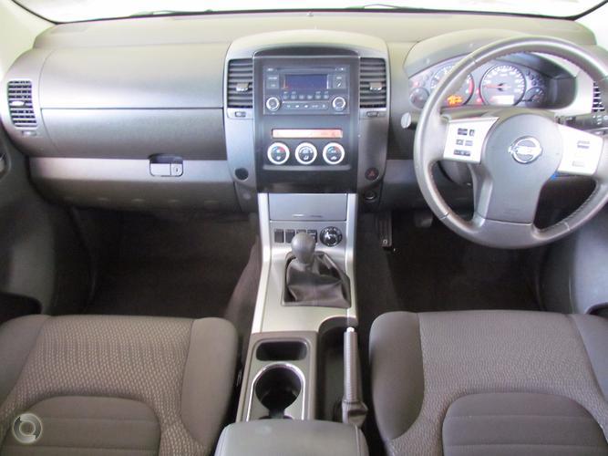 2013 Nissan Navara ST D40 Series 6 Manual 4x4 Dual Cab
