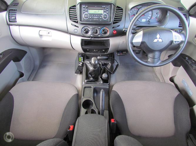 2012 Mitsubishi Triton GLX MN Manual 4x4 MY13 Double Cab
