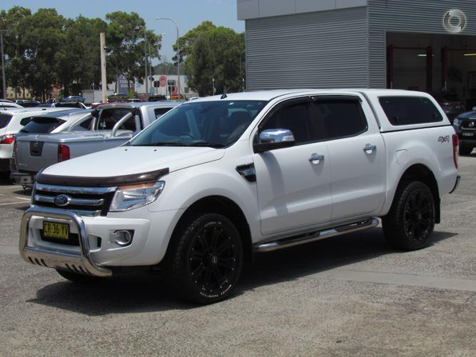 2014 Ford Ranger XLT PX Auto 4x4 Double Cab