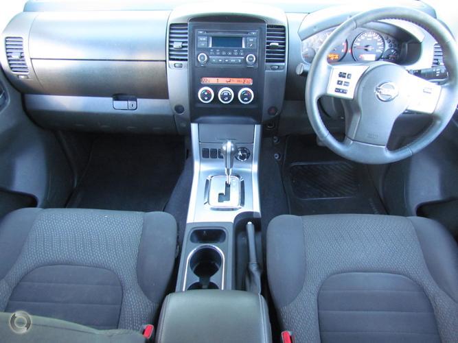 2013 Nissan Navara ST D40 Series 6 Auto 4x4 Dual Cab