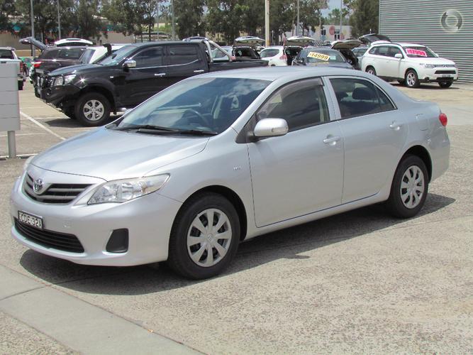 2011 Toyota Corolla Ascent Auto MY11