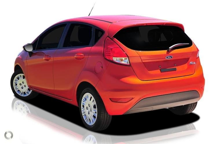 2018 Ford Fiesta Ambiente WZ Manual