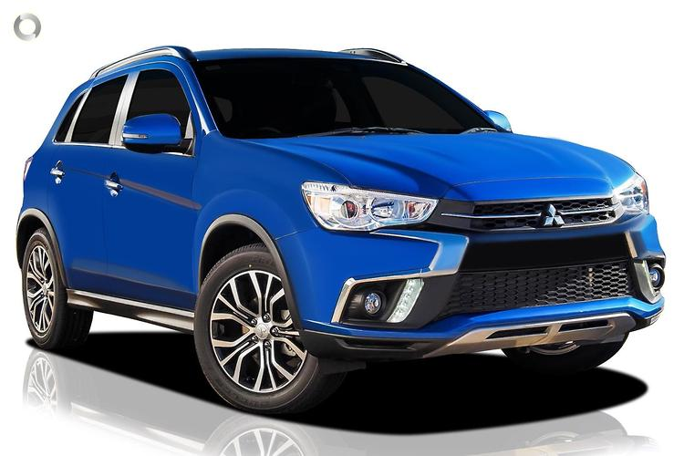 2017 Mitsubishi ASX XC XLS MY18 Constantly Variable Transmission 2WD