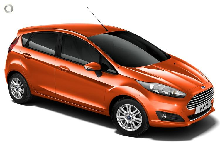 2018 Ford Fiesta WZ Trend (May.)