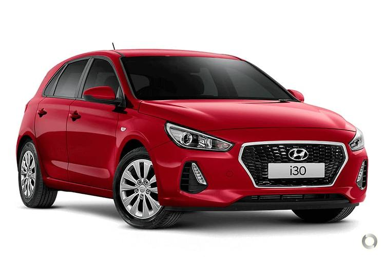 2019 Hyundai i30 PD Go MY19 Double-Clutch Transmission