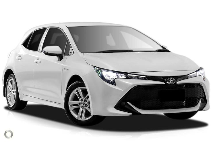 2018 Toyota Corolla ZWE211R Ascent Sport Hybrid Electronically Controlled CVT (Jun.)
