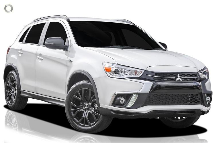 2019 Mitsubishi ASX XC Black Edition MY19 Constantly Variable Transmission 2WD