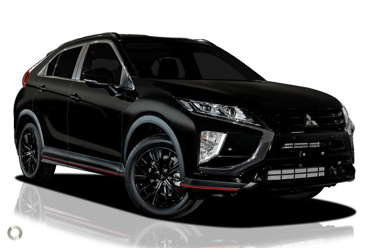 2018 Mitsubishi Eclipse Cross YA Black Edition MY19 Constantly Variable Transmission 2WD
