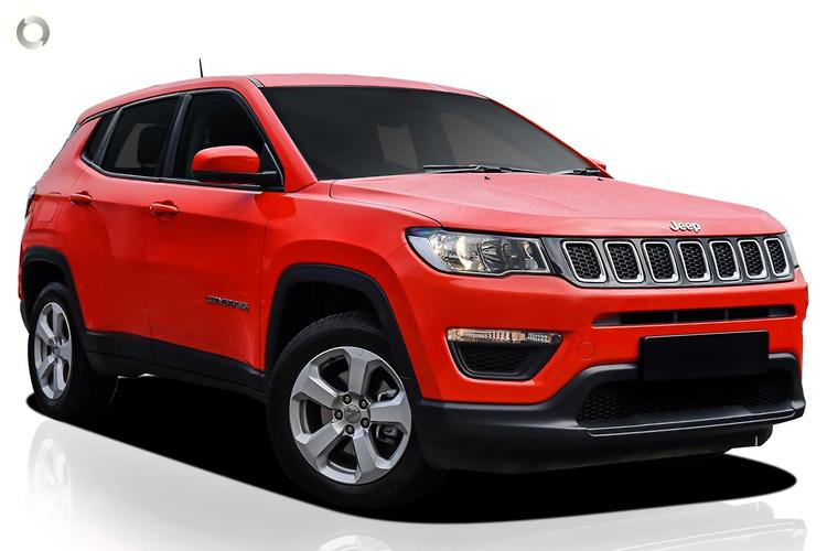 2018 Jeep Compass M6 Longitude MY18 FWD