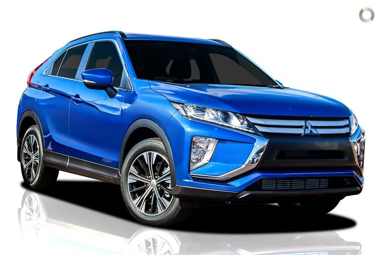 2019 Mitsubishi Eclipse Cross YA ES MY20 Constantly Variable Transmission 2WD