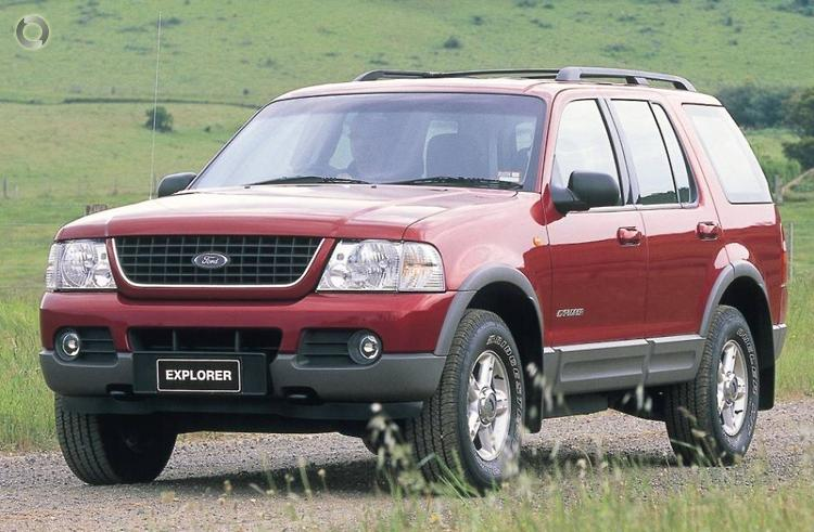 2002 Ford Explorer UT XLT (Oct. 2001)