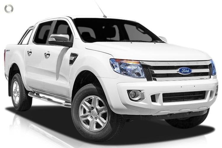 2014 Ford Ranger PX XLT Hi-Rider Sports Automatic 4x2 (May.)