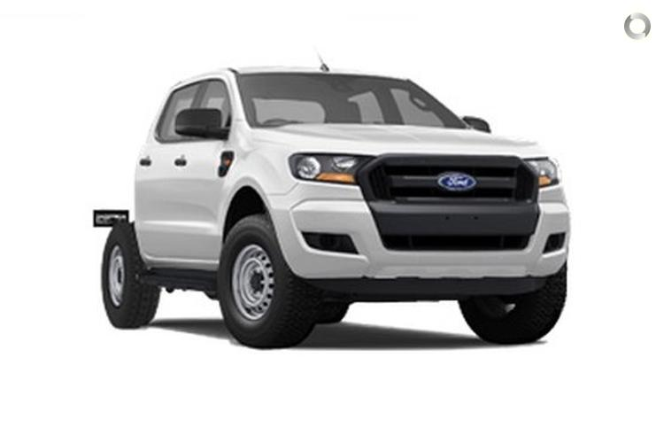 2015 Ford Ranger XL Hi-Rider PX MkII Auto 4x2 Double Cab