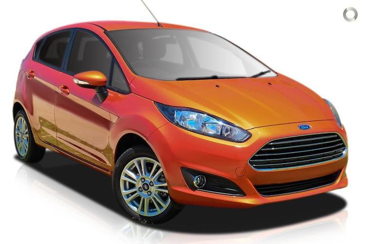 2015 Ford Fiesta WZ Trend MY15