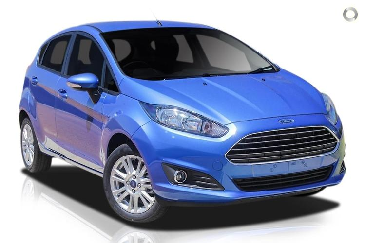 2017 Ford Fiesta Trend WZ Manual