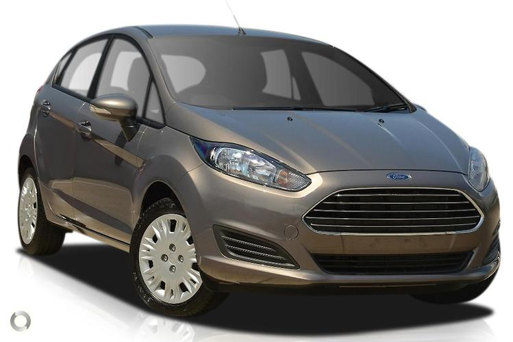 2017 Ford Fiesta WZ Ambiente PowerShift (Jul. 2014)