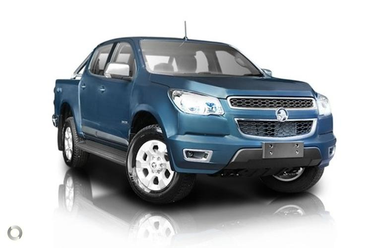 2013 Holden Colorado RG LTZ MY14