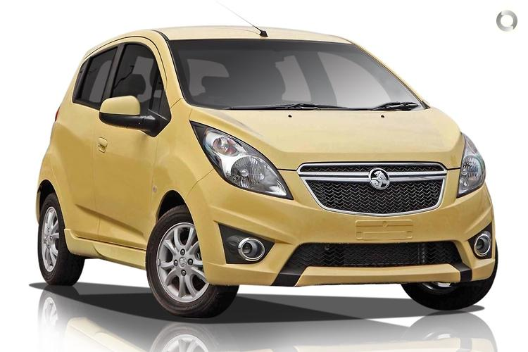 2015 Holden Barina Spark MJ CD MY15