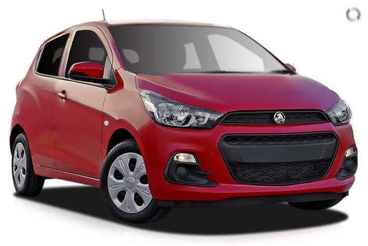 2015 Holden Spark MP LS MY16 Constantly Variable Transmission