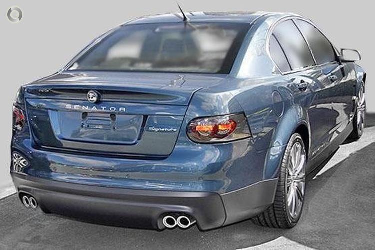 2008 Holden Special Vehicles Senator Signature Manual MY09