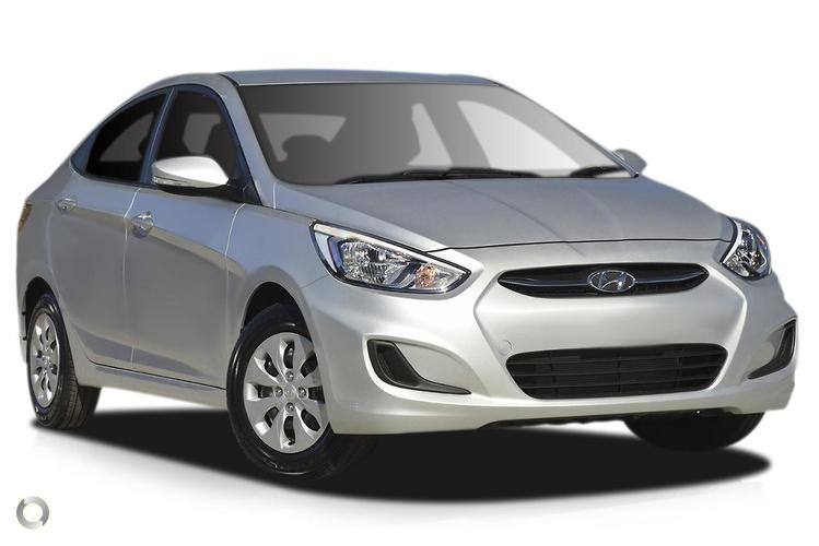 2017 Hyundai Accent RB4 Active MY17 Constantly Variable Transmission