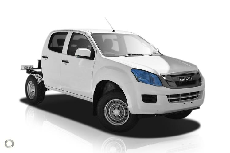 2015 Isuzu D-MAX (No Series) SX High Ride MY15 Sports Automatic 4x2