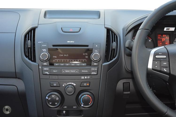 2015 Isuzu D-MAX SX High Ride Auto 4x2 MY15