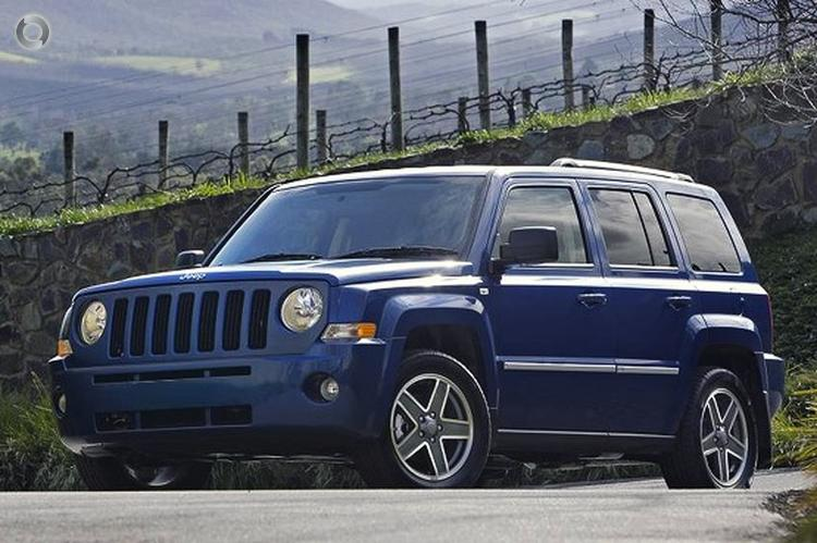 2011 Jeep Patriot MK Limited MY10 CVT with Auto Stick