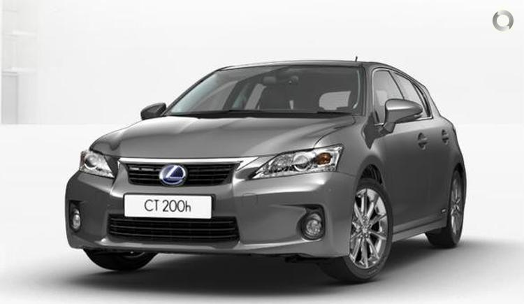2012 Lexus CT200h ZWA10R Luxury MY13 Constantly Variable Transmission