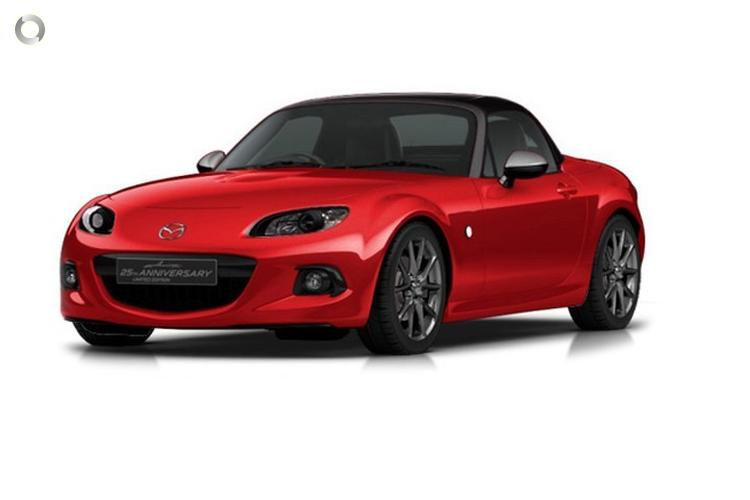 2014 Mazda MX-5 NC Series 2 25th Anniversary MY13 Sports Automatic