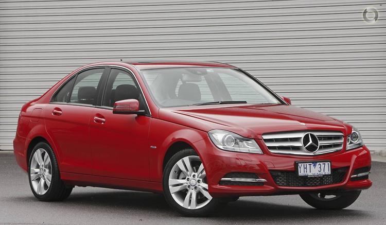 2011 Mercedes-Benz C200 CDI W204 BlueEFFICIENCY Elegance MY11 7G-TRONIC PLUS