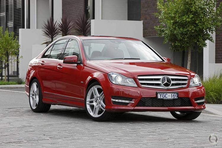 2011 Mercedes-Benz C250 W204 BlueEFFICIENCY Avantgarde MY11 7G-TRONIC PLUS