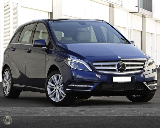 2013 Mercedes-Benz B200 W246 BlueEFFICIENCY Dual Clutch Transmission (Jan.)